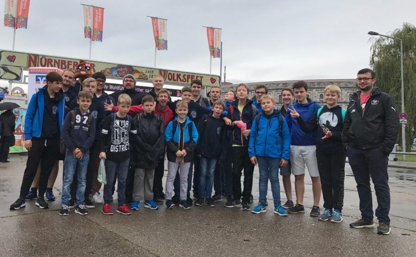 Gelübdefeier: Messdiener St. Gertrud auf Tour in Nürnberg
