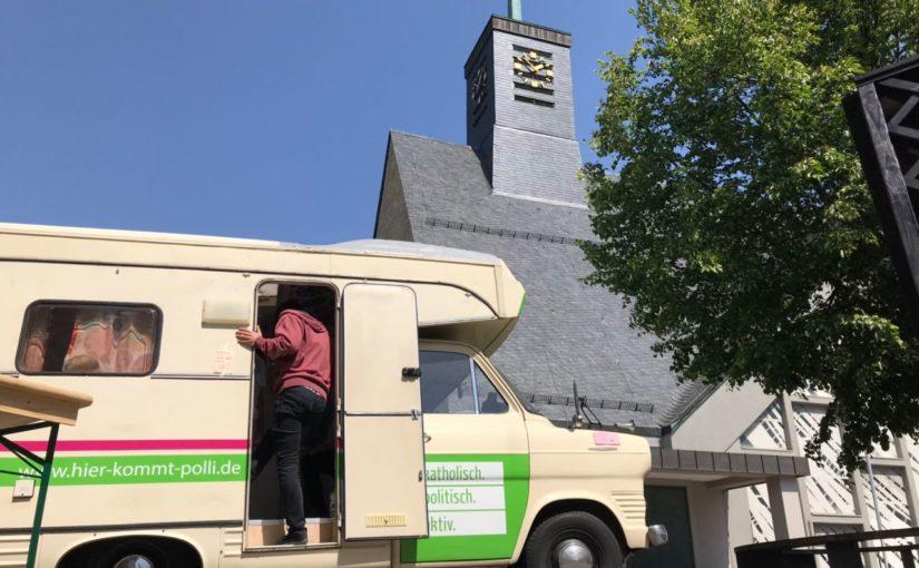 Polli zu Besuch in Leimersheim