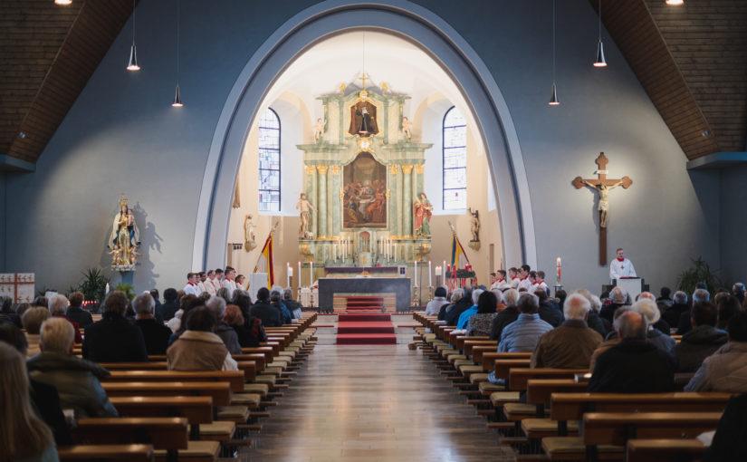 Wiederindienststellung Kirche St. Gertrudis Leimersheim