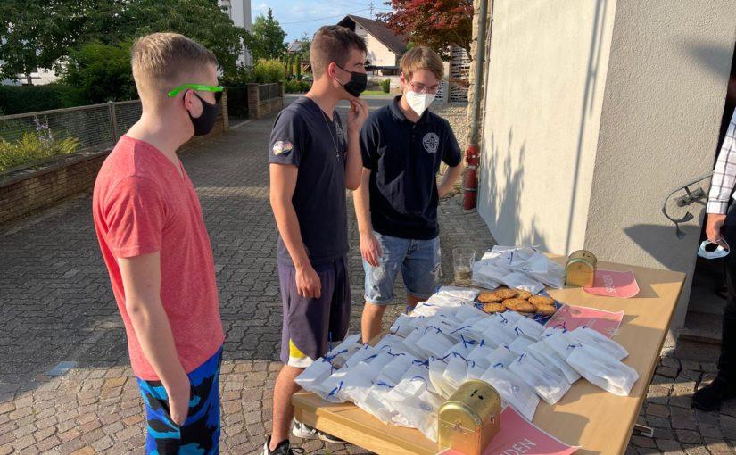 Messdiener sammeln Spenden für die Betroffenen der Hochwasserkatastrophe